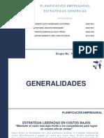 Caso Estrategias Genericas - Grupo No. 10