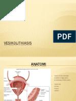 vesikolithiasis ppt