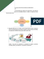 Mencione y Describa Cada Una des Funciones Del Proceso Administrativo