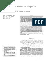 Laser de diodo no tratamento da retinopatia da p r e m a t u r i d a d e