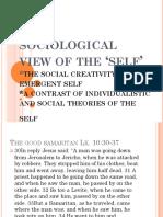UTS.sociological View of Self.2 1