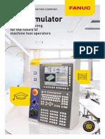 CNC Simulator Flyer En