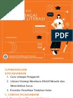 Seri Manual GLS, Guru Sebagai Teladan Literasi