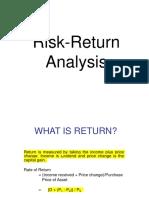 Risk - Return (Revised).PPT