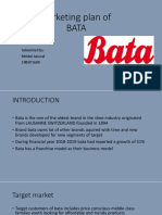 Marketing Plan for BATA