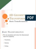 2d transformation pdf