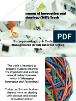 Elective Course MIT-SBM ITB
