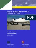 Albania National Transport Plan