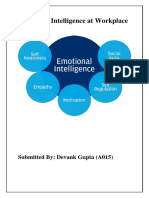 Importance of emotional intelligence at work place