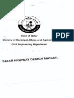 Qatar Highway Design Manual
