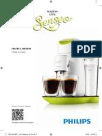 Senseo HD7872, HD7870