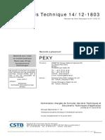 Raccords Pexy Atec 1412-1803
