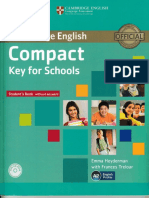 Compact Keys for School Student Book