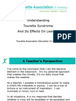 Tourette Association 30 Minute in Service