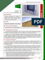 Ff_7.- Fabricas de Ladrillo Vierteaguas y Dinteles