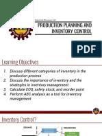 6 Inventory Control