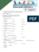 Soal UAS Bahasa Inggris Kelas 1 SD Semester 2 Dan Kunci Jawaban.pdf