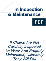 Chain Inspection