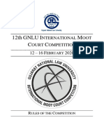 GIMC 2020 - Rules of the Competition