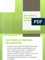 The Power of Personal Declarations.pptx