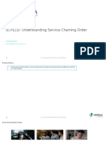 UCPE[3] Understanding Service Chaining Order