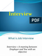 Flow of Interview