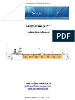 CargoManager Instruction Manual v1.01