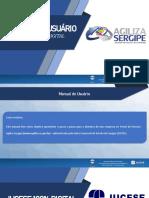 Manual do Usuário - JUCESE 100% DIGITAL