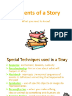 Elements of a Story Discussion Guide