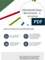 OB - II (Group Presentation)