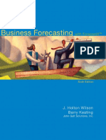 J. Holton Wilson, Barry Keating - Business Forecasting With ForecastX-McGraw-Hill _ Irwin (2008)
