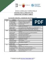 Esquema, Autores, Literatura Lengua