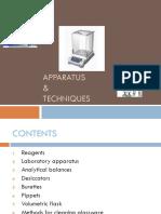 Chp2 Apparatus & Techniques