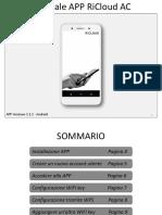 Manuale APP RiCloud AC.rev01