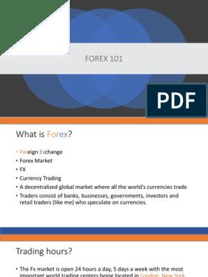 piața forex pdf