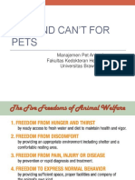 Can and Can't for Pets