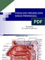 Fisiologi Hidung Dan Sinus Paranasal