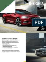 Opel Insignia 2019 Catalog