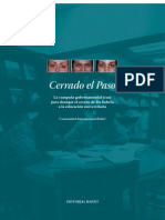 CERRADO EL PASO