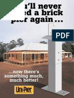 Uni Pier Builders Grade Brochure