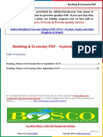 Banking & Economy PDF _ September 2019 by AffairsCloud