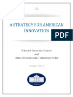 Strategy for American Innovation October 2015