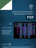 Analog Layout Design (Industrial Training)