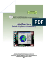 Menginstalasi Sistem Operasi Berbasis Gui