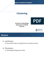 13 Clustering