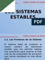 SISTEMAS ESTABLES - SESION 05