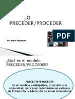Modelo Precede-procede 2