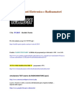 UTILITY Siti Web Elettronica e Radioamatori by IW2BSF (c)