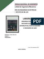 Labo 4 Arranque Manual Para Motores Eléctricos Por Interruptor, Por Pulsadores e Inversión de Giro