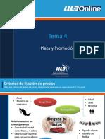 Plaza y promoción